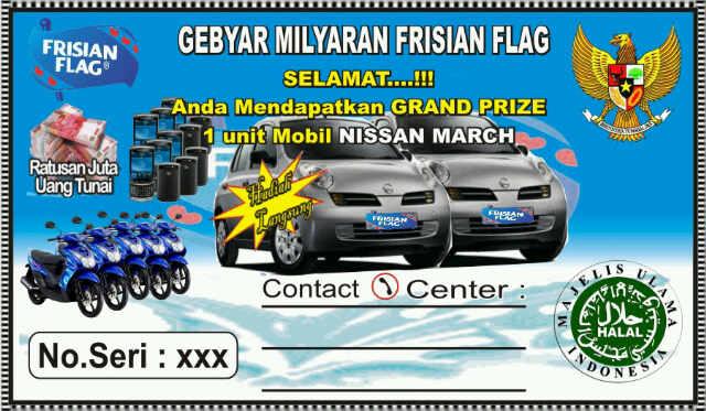 PTFrisian Flag Contoh Kupon