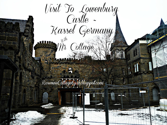 Outside of Löwenburg Castle - Hesse, Kassel, Germany