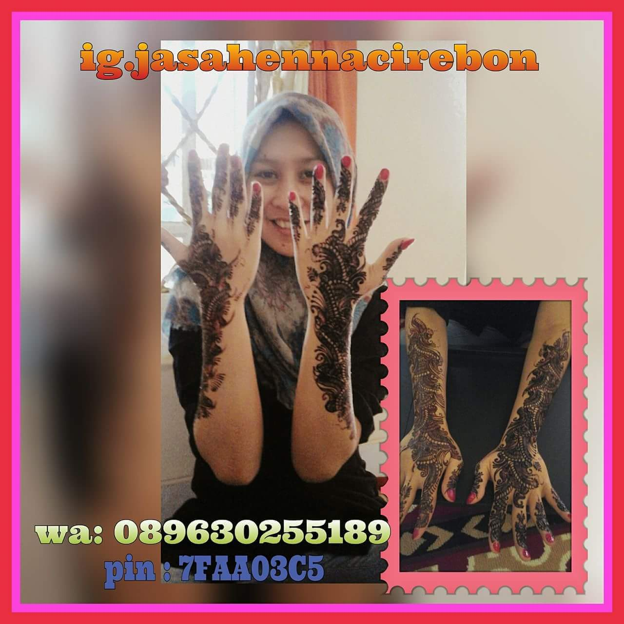 Jasa Henna Cirebon JASA LUKIS HENNA