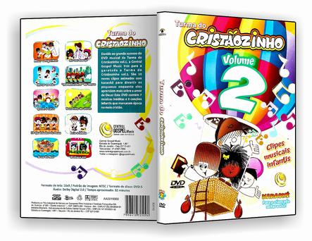 CAPA DVD – Turma Do Cristãozinho Vol.2 – DVD-R