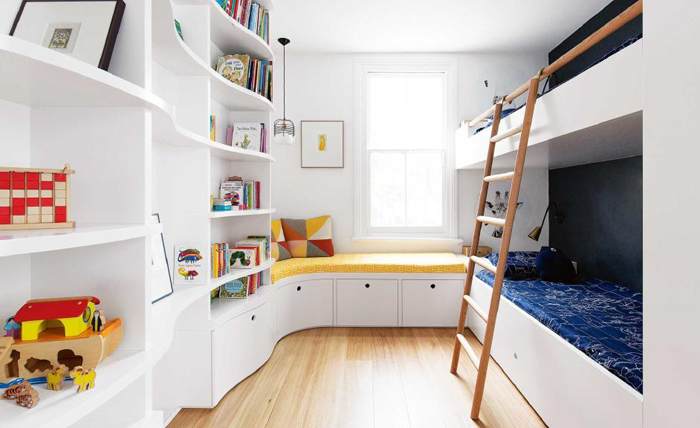 Custom designed kid's room in Australia
