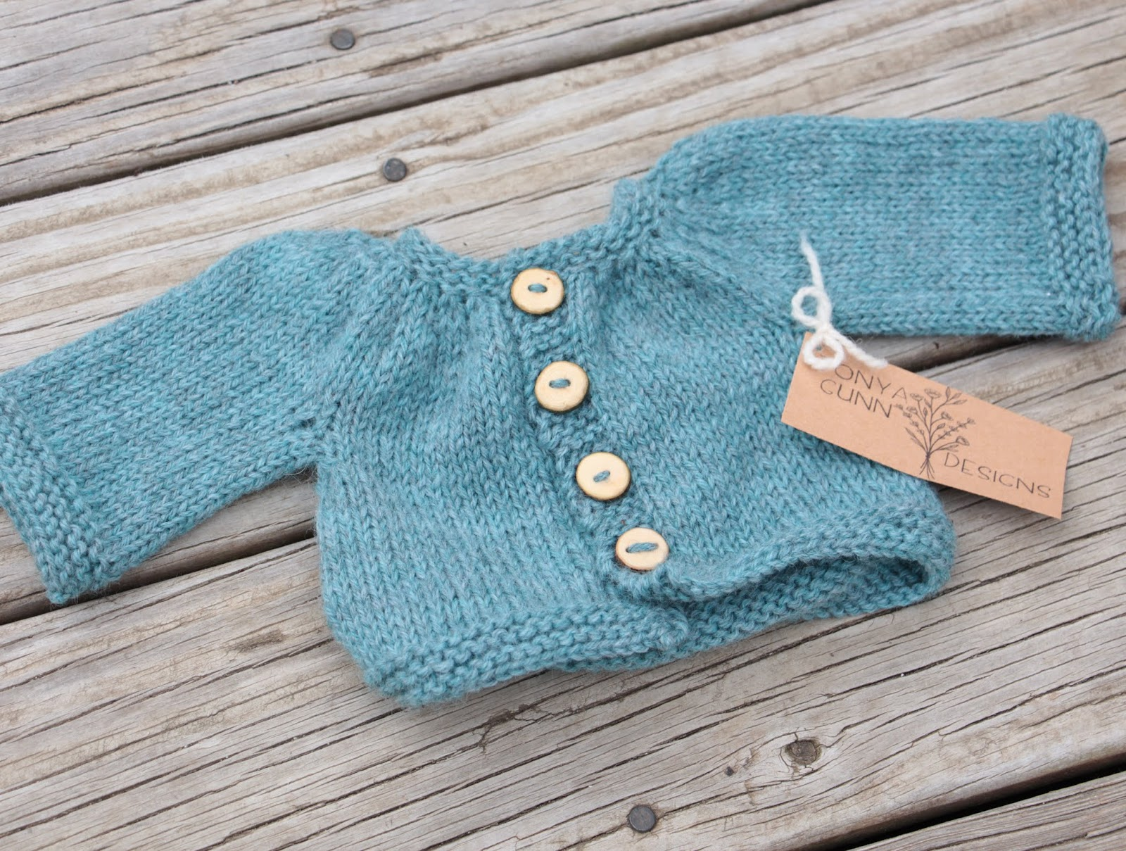 Natural Earth Farm: Free Baby Doll Cardigan Knitting Pattern