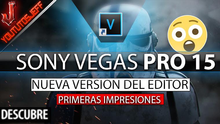 Sony Vegas Pro 15 Primeras Impresiones, analisis de velocidad