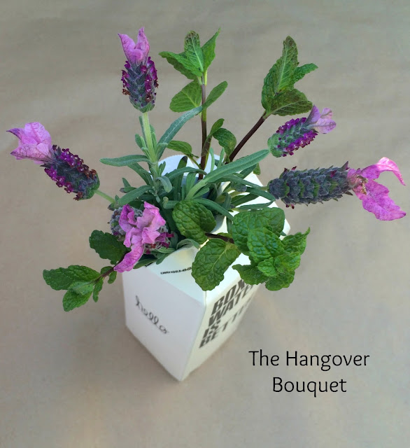 The Hangover Bouquet - Floral Relief Arrangement, Perfect Gift Idea for Super Bowl Monday! | www.jacolynmurphy.com