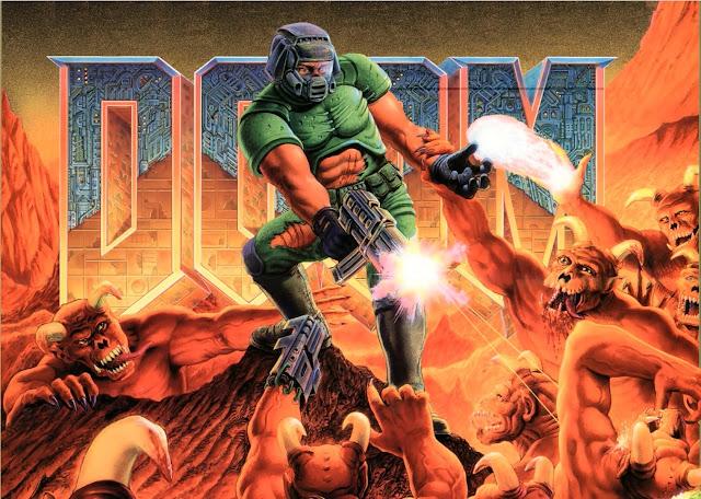 Doom rodando dentro do Doom. É sério!