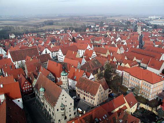 La curiosa ciudad alemana de Nördlingen