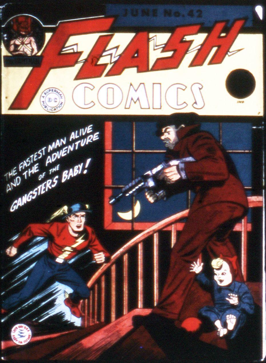 Flash Comics 42 Page 1