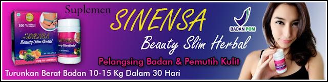 Sinensa Beauty Slim Herbal (BSH) Asli - Suplemen Pelangsing dan Pemutih Badan BPOM - Tubuh Langsing dan Kulit Lebih Sehat