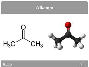 Kimia SMA Kelas XII Alkanon