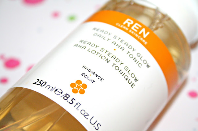 REN Skincare Ready Steady Glow Daily AHA Tonic #GlowClean