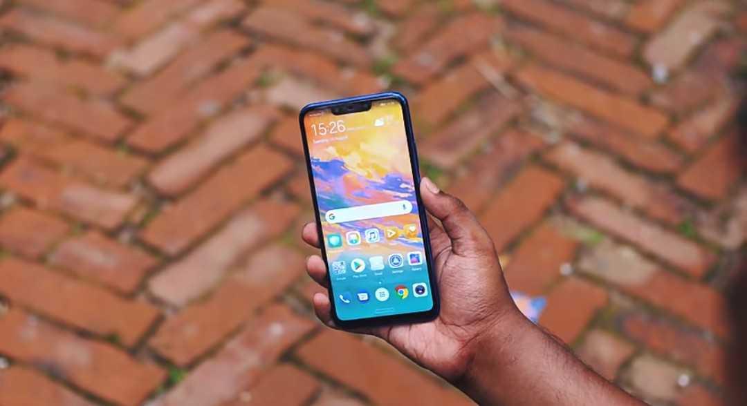 The Huawei's Nova 3i Display