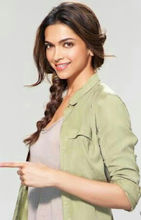 Deepika Padukone Index Finger Pointing