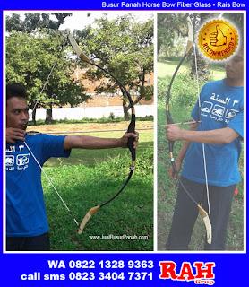 Jual Busur Panah Horsebow | Rais Bow | Busur Fiber Glass