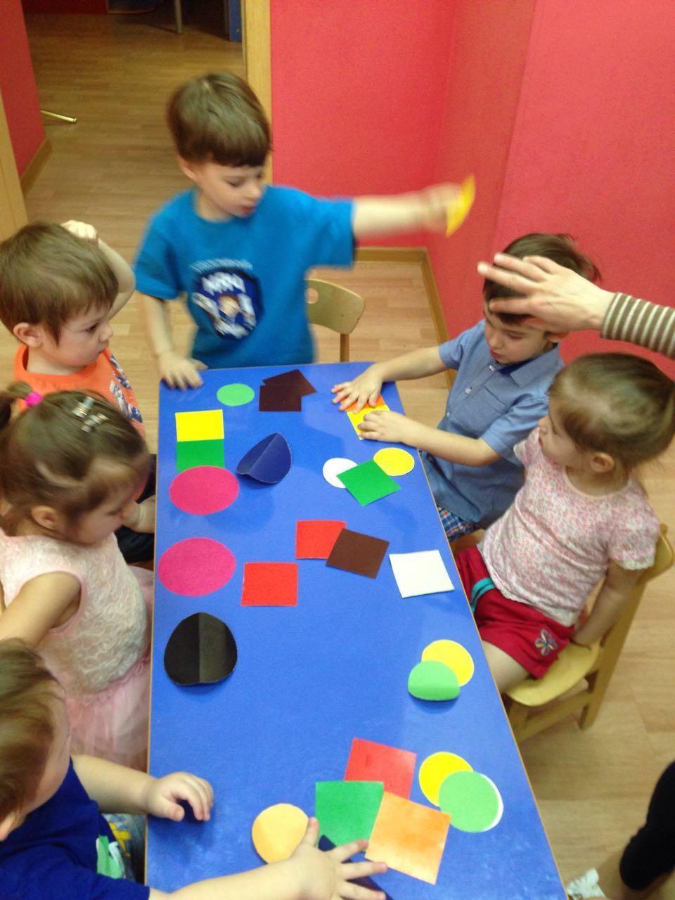 знакомство с цифрами детский сад
