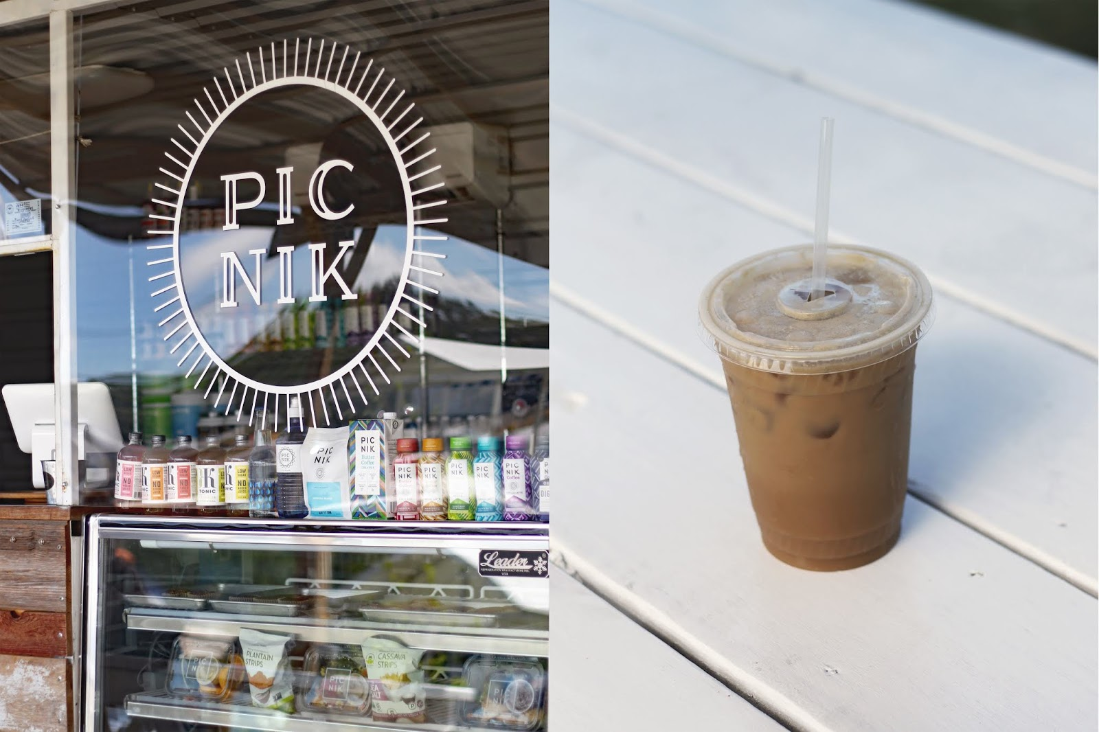 Picnik Austin, Iced Coffee, Cozy Coffee Shop, Coffee Shops Vibe