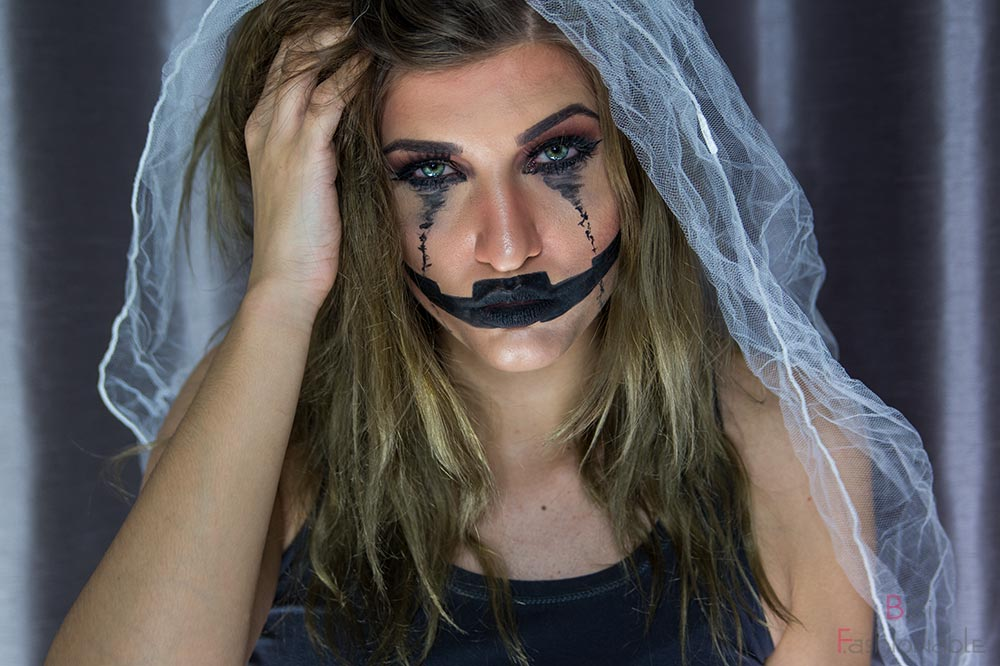 Halloween Pumpkin Bride frontal