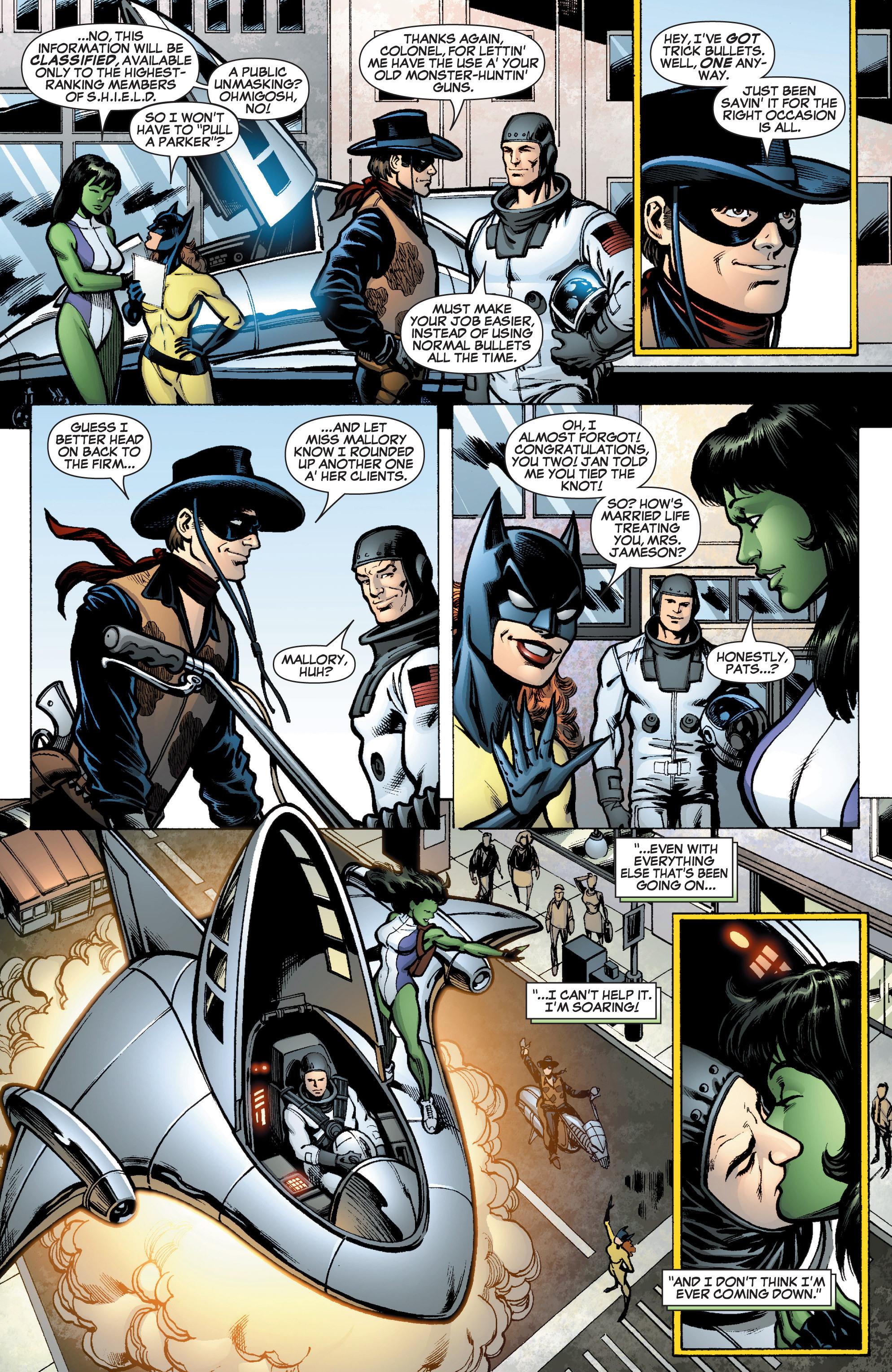 Read online She-Hulk (2005) comic -  Issue #10 - 6