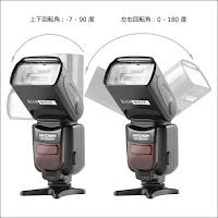 フラッシュ ストロボ K&F Concept スピードライト Canon用 カメラフラッシュ E-TTL機能対応 GN56 M/MULTI/S1/S2 ラッシュモード Canon一眼レフカメラに対応 KF590EX-C