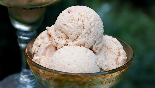 cuisinart ice cream maker peach ice cream recipes