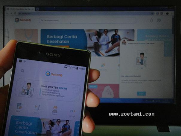 Teknologi Kesehatan Berbasis Aplikasi , SehatQ