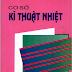SÁCH SCAN - Cơ sở kỹ thuật nhiệt (PGS.TS Phạm Lê Dần - GS.TSKH Đặng Quốc Phú)