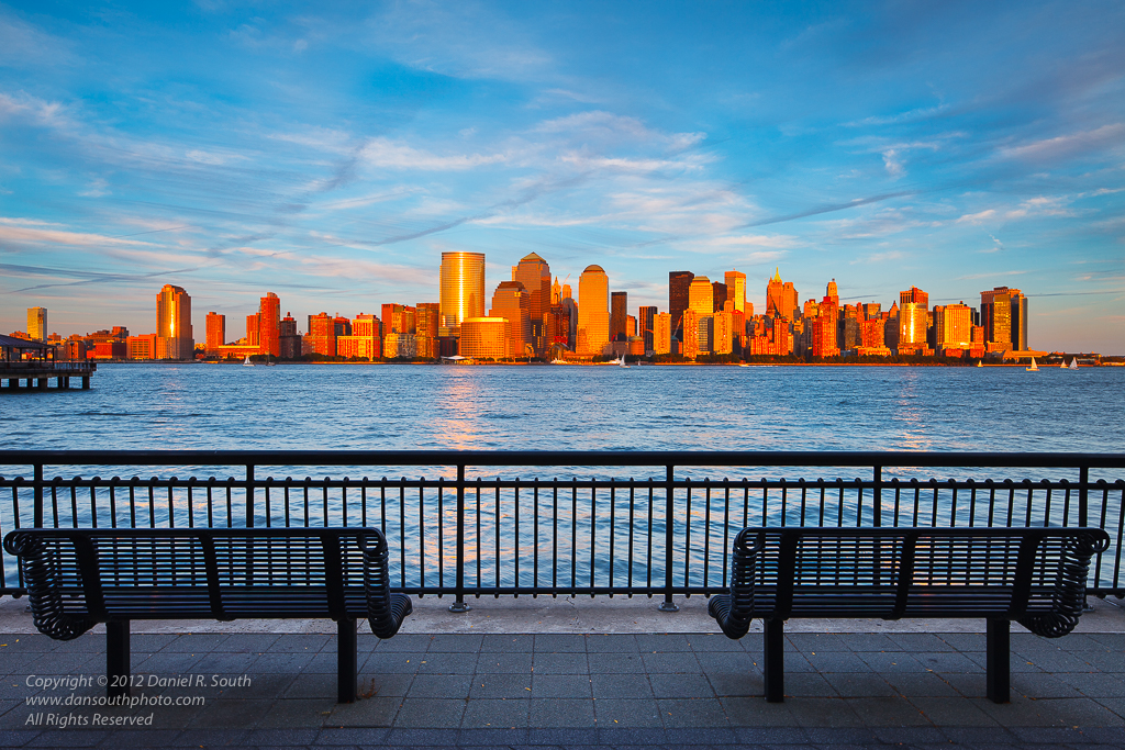 a photo of lower manhattan without the world trade center