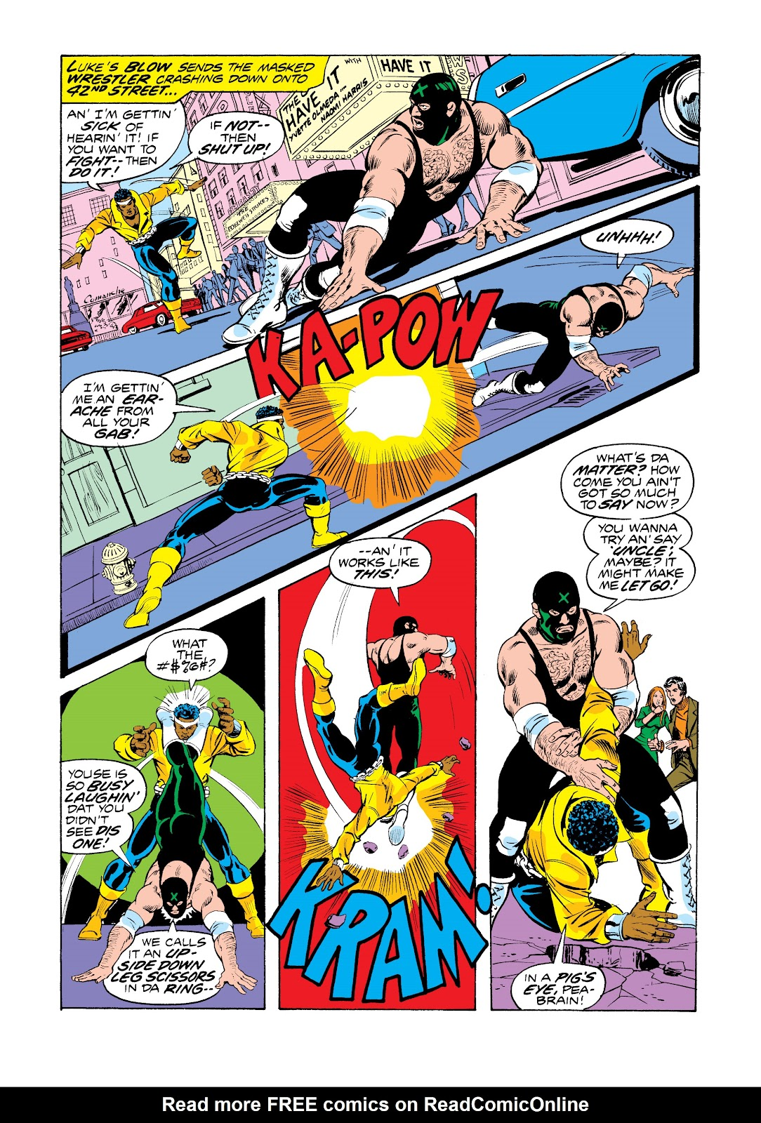 Read online Marvel Masterworks: Luke Cage, Power Man comic -  Issue # TPB 2 (Part 3) - 15