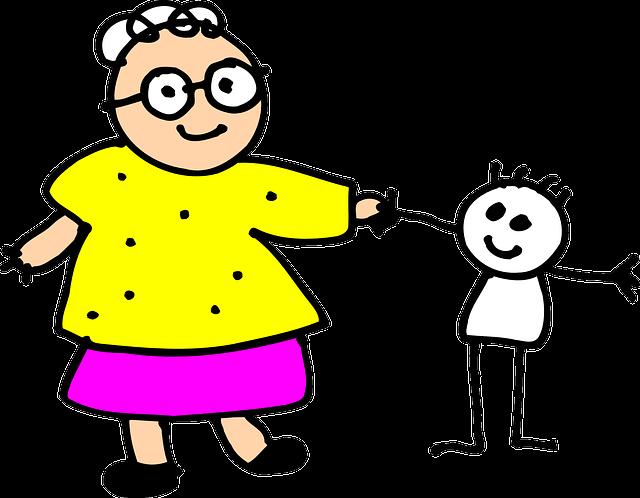 meme nenek dan cucu