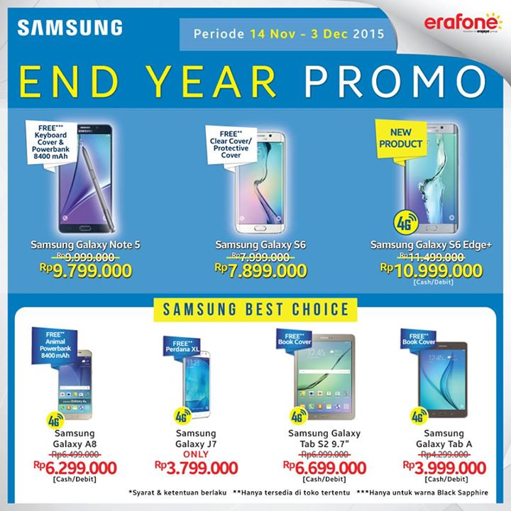 Samsung Galaxy S6 End Year Promo