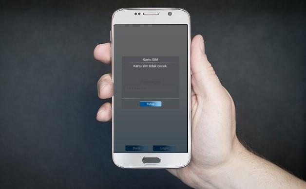 mobile banking kartu sim tidak cocok