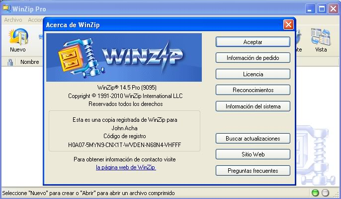 gratuitement winzip 14.5