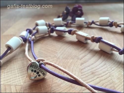 Leder - EM Keramikhalsband
