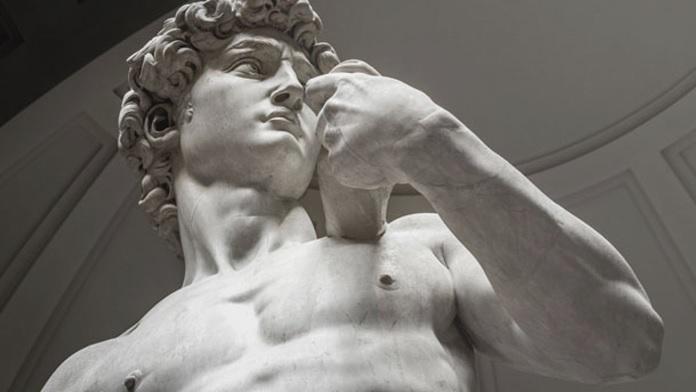 Michelangelo ricavò il David da un marmo scadente
