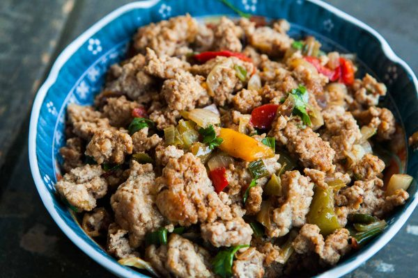 Mom's Ground Turkey And Peppers #ground #turkey #peppers #healthyrecipes #healthyfood #dinner #dinnerrecipes