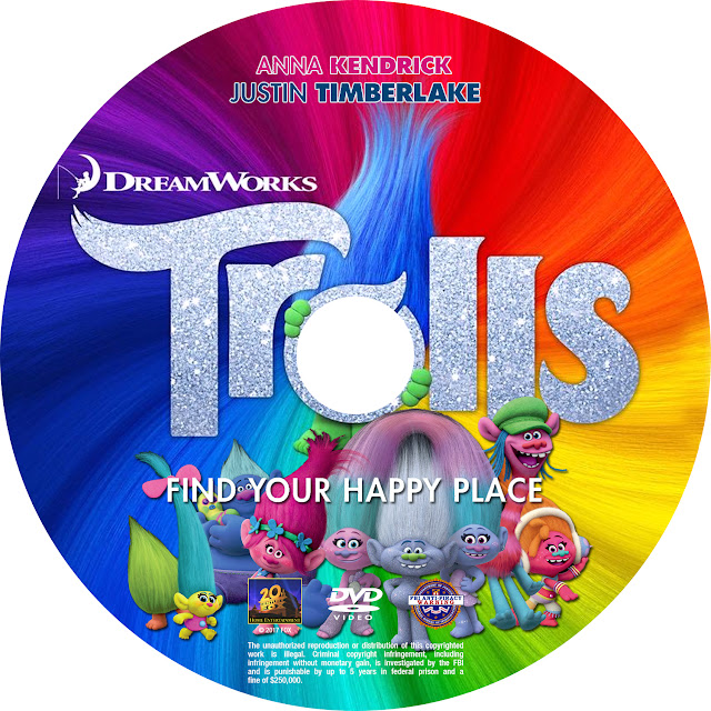 Label DVD Trolls