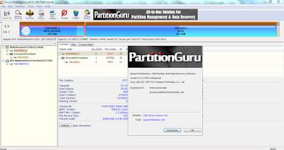 Screenshot Eassos PartitionGuru Pro 4.9.5.508 Full Version