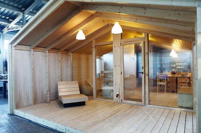 American Freedom Off The Grid House By Incredible Tiny Homes Price: $20K