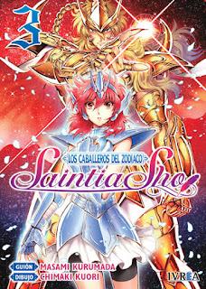 "Reseña de ""Saint Seiya Saintia Shō"" (聖闘士星矢・セインティア翔) vols. 2, 3 y 4 - Ivréa"