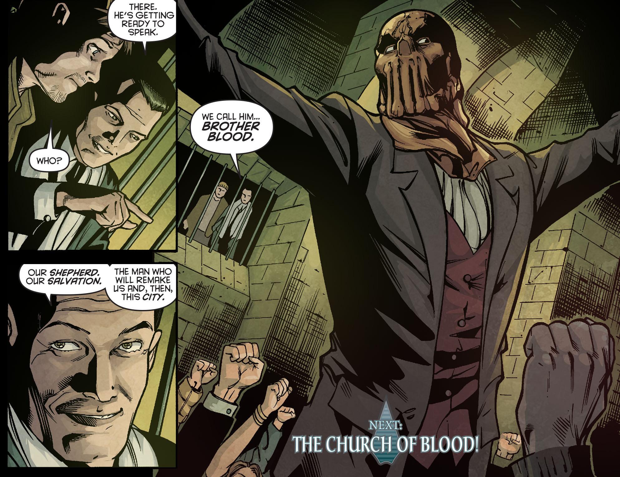 Read online Arrow: Season 2.5 [I] comic -  Issue #2 - 22