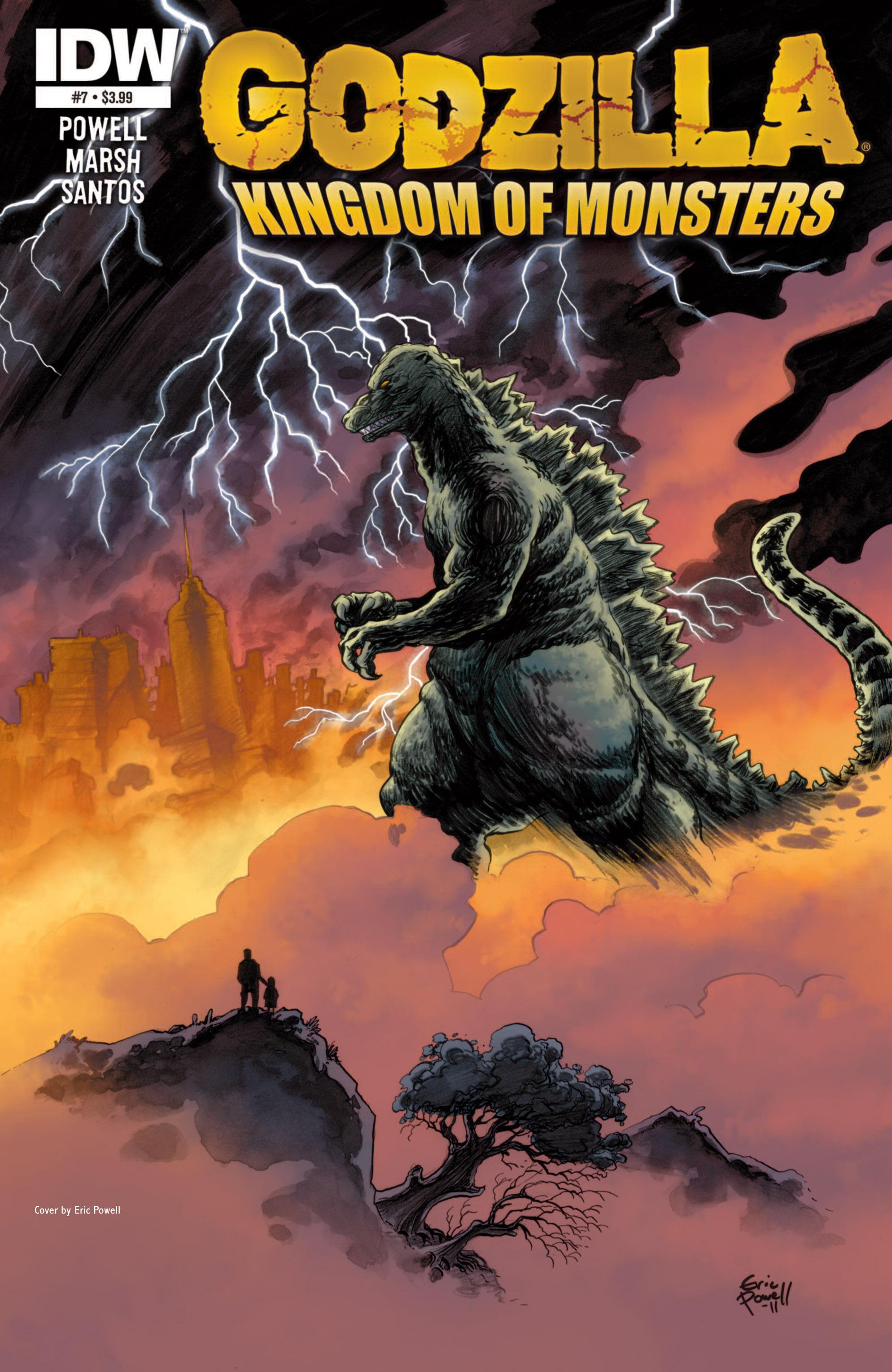 Godzilla: Kingdom of Monsters 7 Page 1