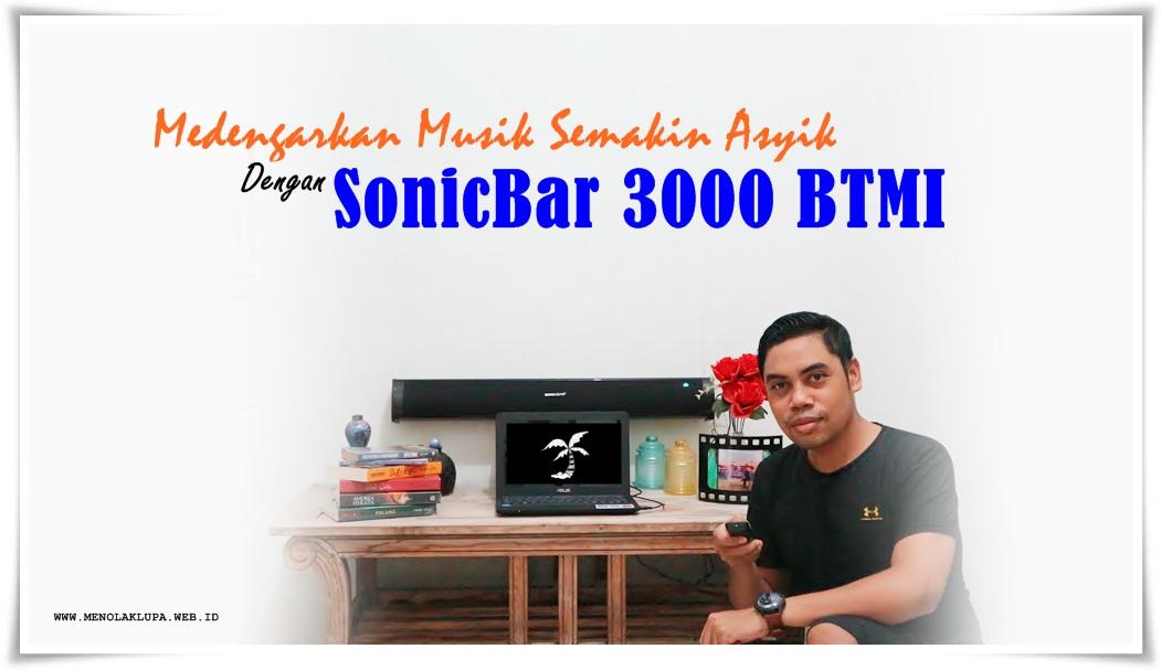 speaker SonicBar 3000 BTMI
