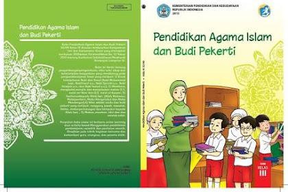 Buku PAI dan Budi Pekerti Kelas 3 dan 6 Kurikulum 2013 Revisi 2018