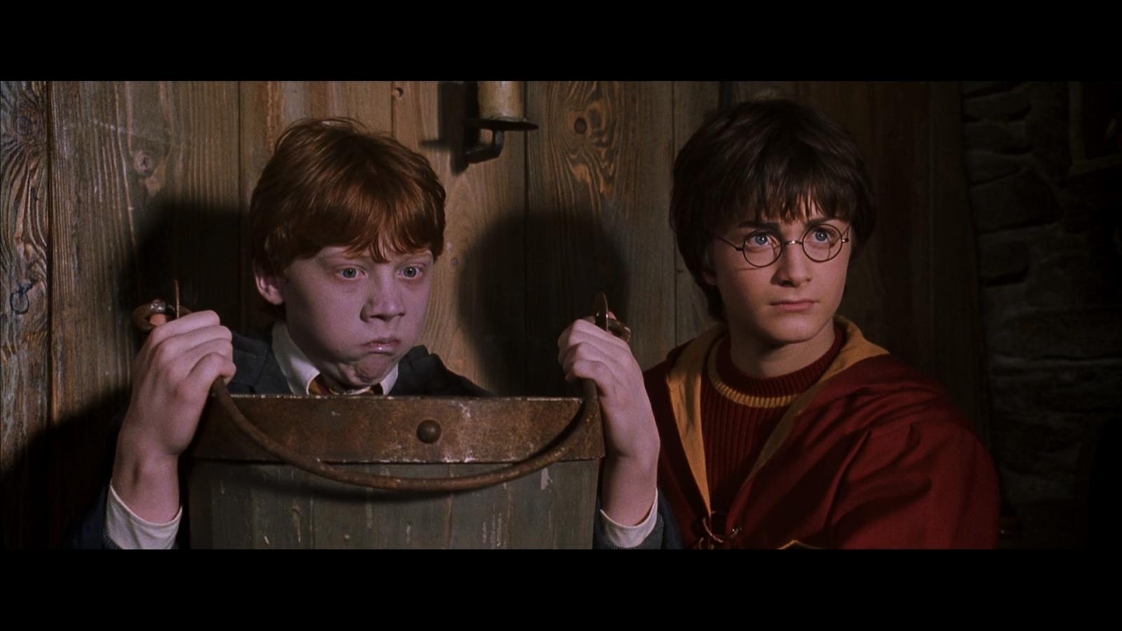 Harry Potter y la cámara secreta (2002) BRRip 720p Latino-Castellano-Ingles captura 1