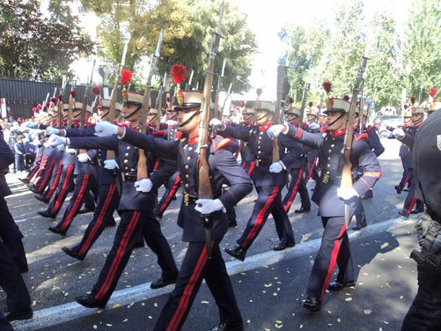 Desfile de las Fuerzas Armadas 2016. Recorrido, actos y horarios