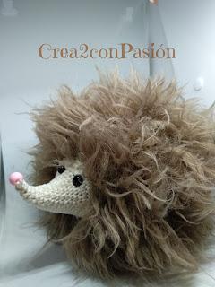 Amigurumi-hedgehog-erizo-ganchillo-o-crochet-Crea2conPasión