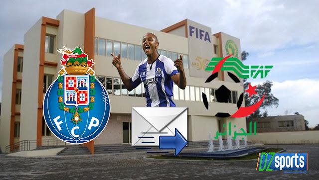 Les dirigeants de FC Porto envoient une demande à la FAF à propos de Yacine Brahimi !