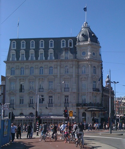 amsterdam tourist info, travel guide amsterdam: park plaza victoria