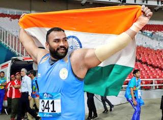 Shot-putter Tejinder Pal Singh wins