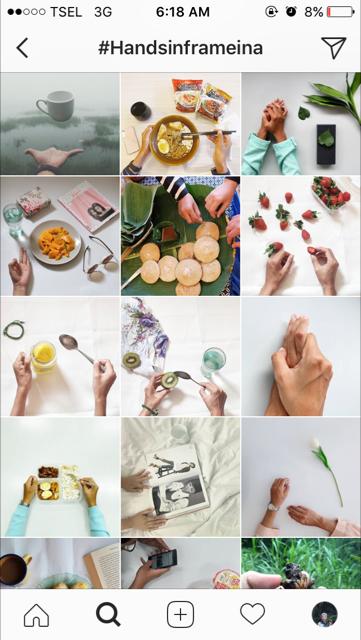 handsinframe, instagram innnayah, handsinfarmeina, foodinhands