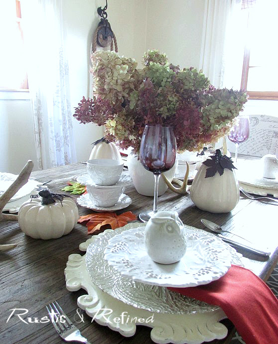 Rustic Tablescape